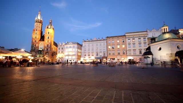 One evening in Krakow