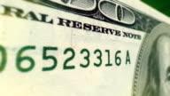 One Hundred Dollar Macro Close-up Pan