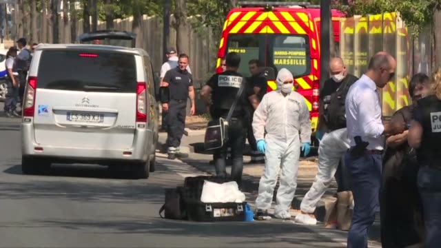 One person was killed and another seriously injured in the southern French city of Marseille on Monday after a car ploughed into people at two...