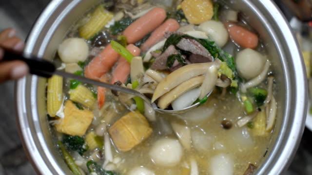 one scoop Sukiyaki by dipper