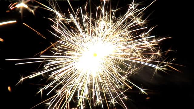 HD: One sparkler in darkness