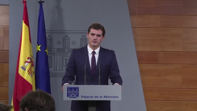 One week on from inconclusive elections in Spain the leader of centre right party Ciudadanos Albert Rivera says Prime Minister Mariano Rajoy has no...