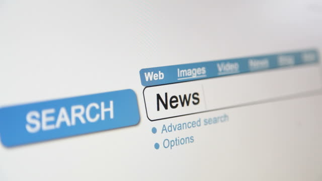 Online search - News headlines