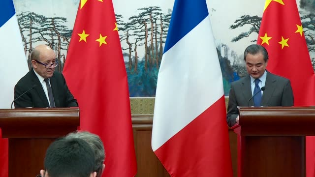 Only sanctions can force North Korea to negotiate said French Foreign Minister Jean Yves Le Drian on Friday adding that Beijing's proposal for a...