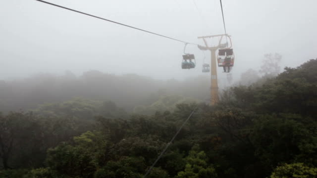 WS Open Cable Sightseeing at Rainy Day