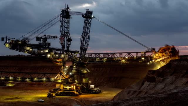 TIME LAPSE : Open Cast Mining