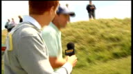 Padraig Harrington intvw Padraig Harrington interviewed by David Chisnall as along on the course at Birkdale SOT on his weak wrist and how he's been...