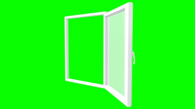 Öffnen Sie ein Fenster, aus verschiedenen Blickwinkeln