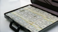 MS Opening brief case full of money