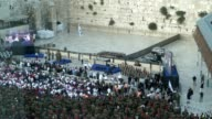 Opening ceremony commemorating the 50th Anniversary of the Six Day War Entrance of the President of Israel Reuven Rivlin