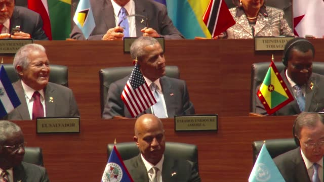 Opening of historic Americas Summit the first with the presence of a Cuban leader