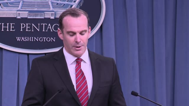opening statement by Brett McGurk Special Presidential Envoy for the Global Coalition to Counter ISIS at the US Department of State his focus is on...