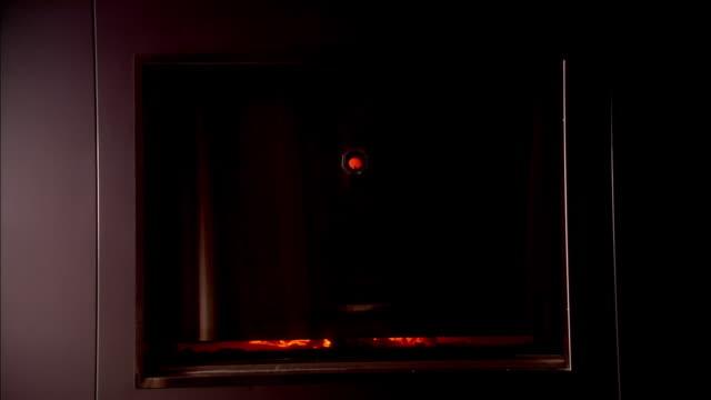 Opening the door's incinerator