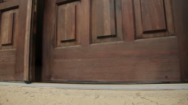Opening the Front Door
