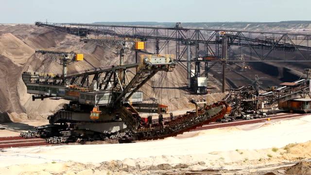 Aperto estrazione mineraria sotterranea