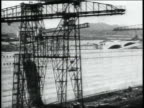 MONTAGE operating cranes and other machinery while excavating the Panama Canal / Republic of Panama