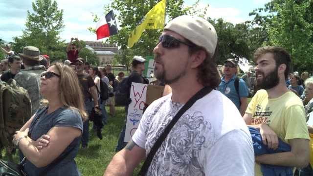Operation American Spring Participants Rally at the US Capitol Building
