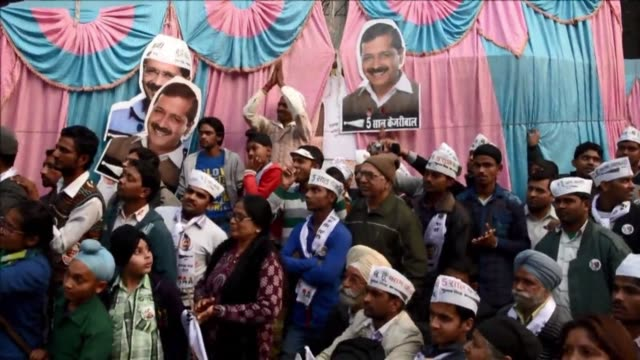 Opinion polls say leader of the anti corruption Aam Aadmi Party Arvind Kejriwal who quit after a chaotic 49 day reign as Delhi chief minister could...