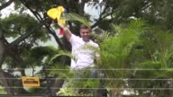 Opposition leader and founder of Venezuela's Voluntad Popular party Leopoldo Lopez vows to continue his fight for freedom and accepts taking the risk...