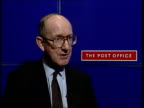 Martin O'Neill MP intvwd Treasury takes its large share of Royal Mail profits because that's what it can get away with London John Roberts intvwd...