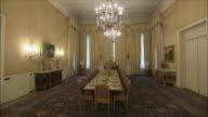 WS ZI Opulent dining room in Saadabad Palace, Tehran, Iran