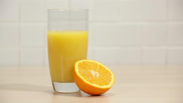 Orange and fresh orange juice