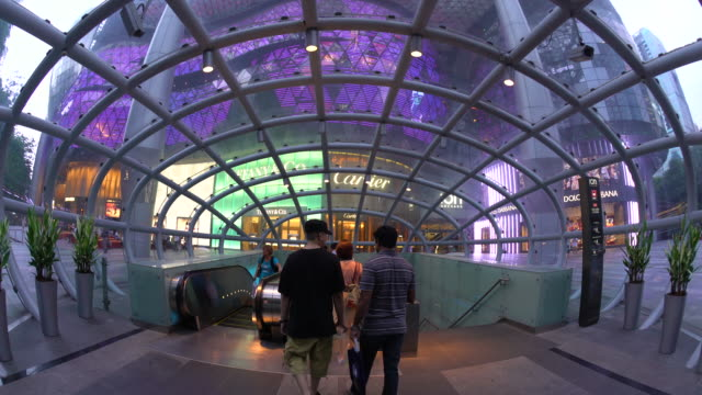 ION Orchard Mall, shopping district of Orchard Road, Singapore, South East Asia