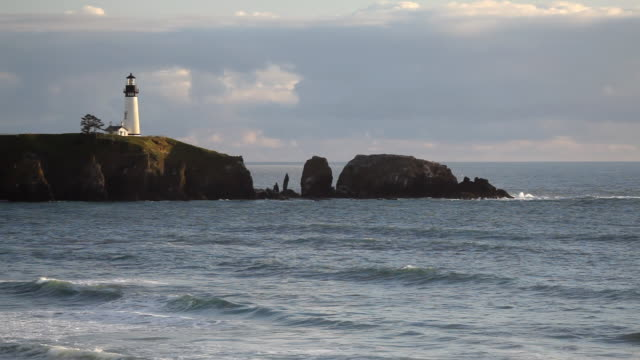 HD Oregon Coast lighthouse