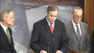 Oregon Senator Jeff Merkley tells reporters that for over two years Oklahoma Attorney General Scott Pruitt has refused open records requests for...