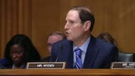 Oregon Senator Ron Wyden lists goals for trade negotiations including labor standards environmental protection and human rights