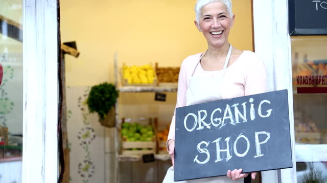 Organic negozio