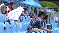 Organisers of the Australian Open stopped play for four hours because Melbourne is enduring its longest heatwave in more than a century Some players...