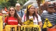 Organizaciones de ambientalistas defensores de derechos humanos y la Iglesia catolica celebran la aprobacion por parte del Congreso de una ley que...