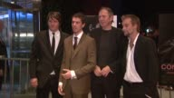 Orian Williams Toby Kebbell Anton Corbijn and Joe Anderson at the 'Control' Premiere at Chelsea West Cinema in New York New York on September 25 2007