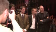Orian Williams Toby Kebbell Joe Anderson and Anton Corbijn at the 'Control' Premiere at Chelsea West Cinema in New York New York on September 25 2007