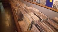 KTLA Origami Vinyl Store on Sunset Blvd