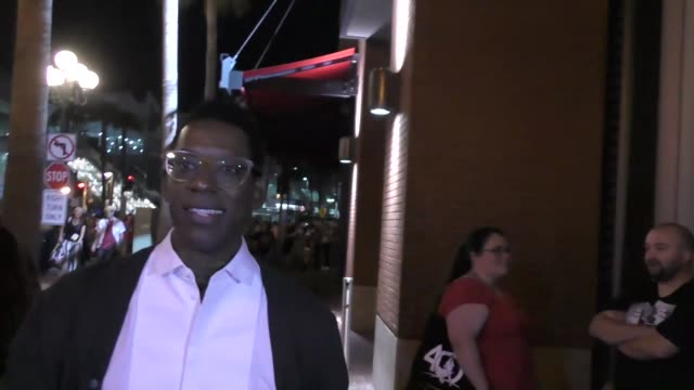Orlando Jones at Celebrity Sightings at San Diego ComicCon International on July 22 2017 in San Diego California