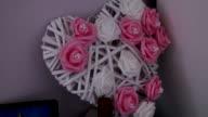 Ornament wedding heart