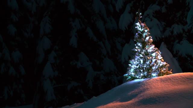 Hd Decorate Albero Di Natale Video stock  Getty Images