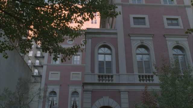 MS, TD, Ornate, brick Embassy building, USA
