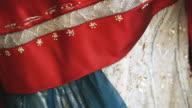 CU Ornate fabric / Milan, Italy