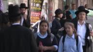 Orthodox Pedestrians, Jerusalem, Israel