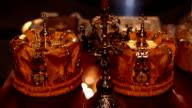 Orthodoxe religiöse Kronen