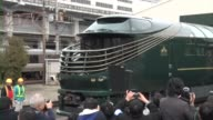 West Japan Railway Co on Thursday unveiled its 10coach luxury 'Twilight Express Mizukaze' train which has proven immensely popular even months before...