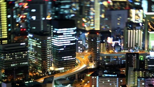 skyline von Osaka