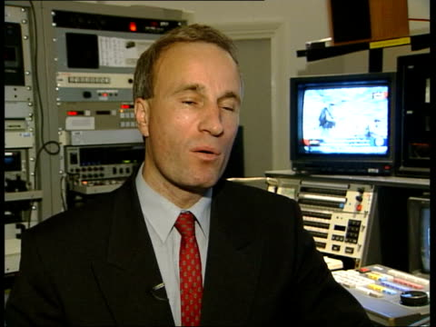 New tape aired on Al Jazeera ENGLAND London Charles Shoebridge interviewed SOT Geological clues to pinpoint location but no indication of when this...