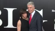 Ottavia Busia and Anthony Bourdain at 'The Big Short' New York Premiere at Ziegfeld Theatre on November 23 2015 in New York City