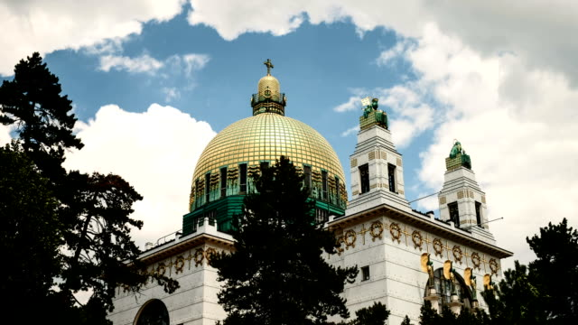 Otto Wagner Church - Time Lapse