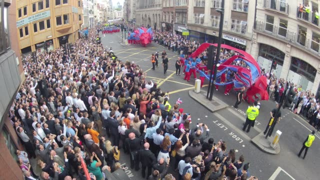 'Our Greatest Team Parade' London 2012 on September 10 2012 in London England