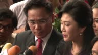 Ousted Thai premier Yingluck Shinawatra went on trial Friday over a costly rice subsidy policy that could see her jailed for a decade